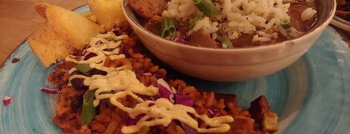 Krimsey's Cajun Kitchen is one of Vegan LA.