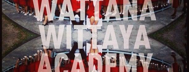 Wattana Wittaya Academy is one of Tempat yang Disukai Tangmo.