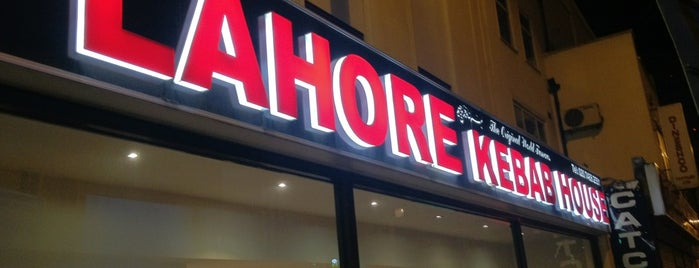 Lahore Kebab House is one of London & Edinburgh.