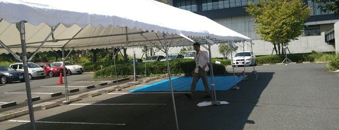 オムロン けいはんなイノベーションセンター is one of Lugares favoritos de Shigeo.