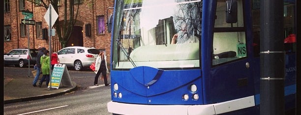 Portland Streetcar is one of to do in portland.