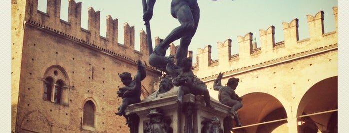 Fontana del Nettuno is one of Bologna, Italy.