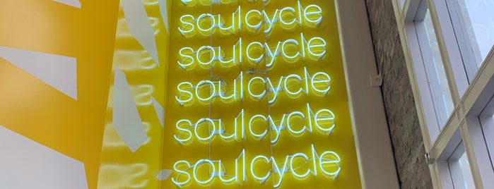 SoulCycle Castro is one of Lieux qui ont plu à Chris.