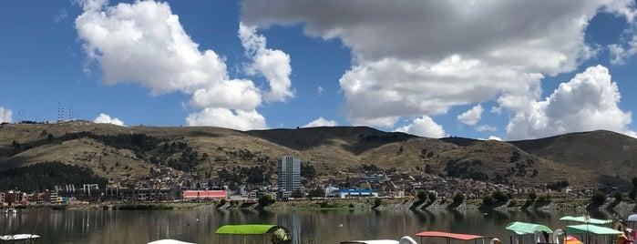 Lago Titicaca is one of Lieux qui ont plu à Paola.
