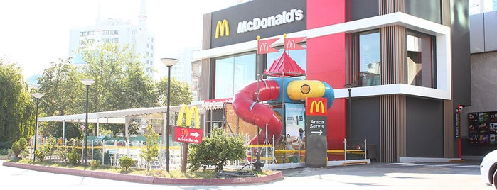 McDonald's is one of Must-Visit ... Ankara.