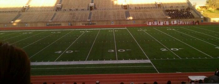 Ratliff Stadium is one of X-Country.