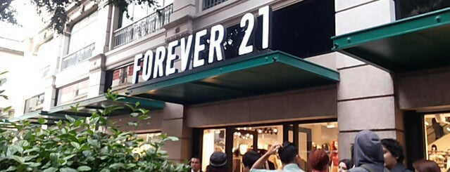 Forever 21 is one of CIUDAD DE MEXICO.