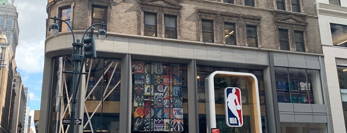 NBA Store is one of New york.