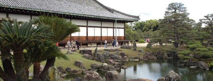 Ninomaru Garden is one of 小堀遠州の作事.
