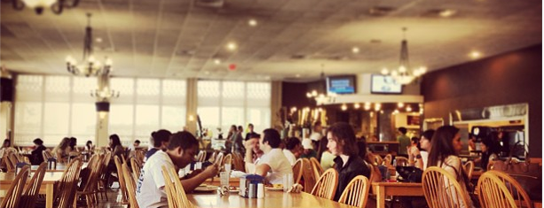 Lynn University Elmore Dining Commons is one of Orientation Challenge.