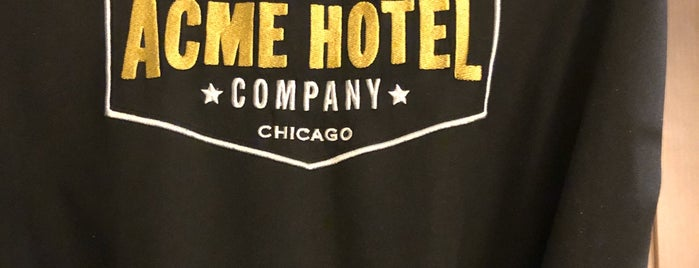 ACME Hotel Chicago is one of Chicago.