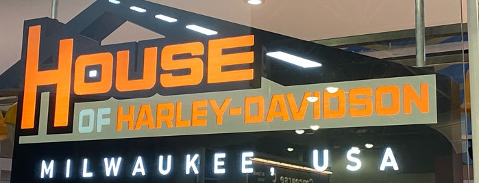 House of Harley-Davidson - Airport is one of Tempat yang Disukai Maria.