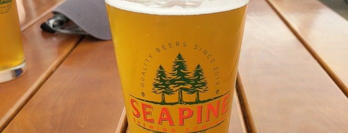 Seapine Brewing Company is one of Daniel 님이 좋아한 장소.