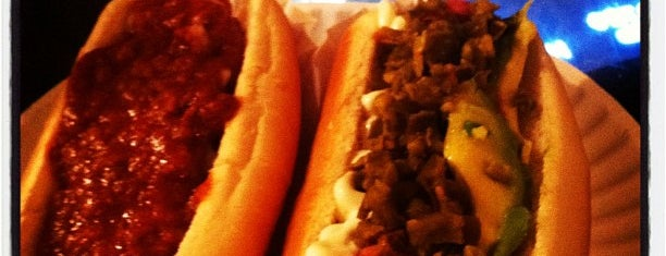 Crif Dogs is one of Places to go when in New York.