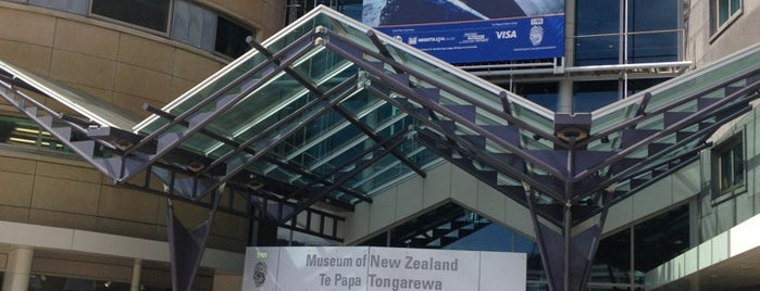 Museum Of New Zealand Te Papa Tongarewa is one of New Zealand Spots.