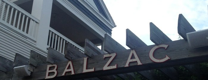 Balzac is one of Restaurants/Bars to try.