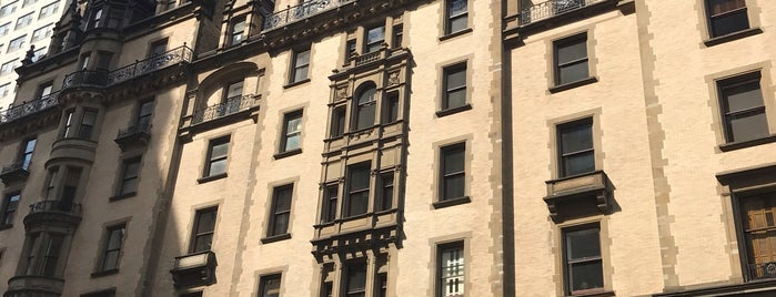 The Dakota is one of New York City.