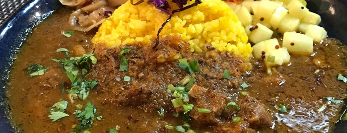 Spice Curry Seiran is one of TOKYO-TOYO-CURRY 3.