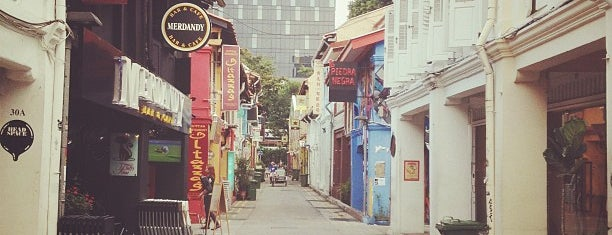 Haji Lane is one of Singa.