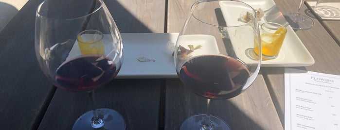 Flowers Vineyard & Winery is one of SF Chronicle.