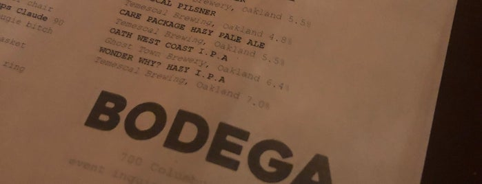 Bodega is one of SF - Repeat.