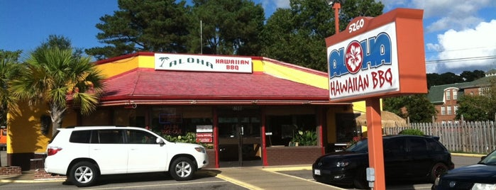 Aloha Hawaiian BBQ is one of Hampton Roads Spots.