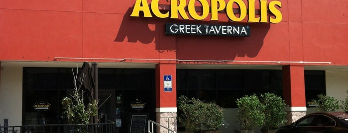 Acropolis Greek Taverna is one of Princess' Tampa Hot Spots!.