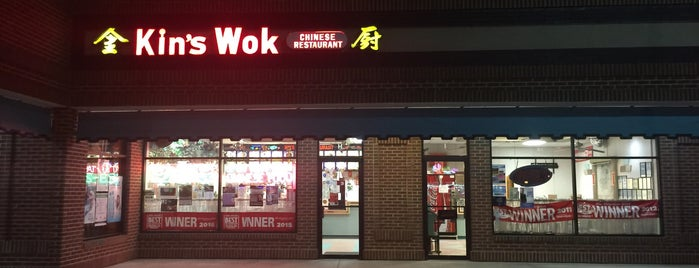 Kin's Wok Ghent is one of Norfolk.