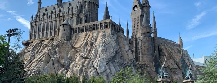 Harry Potter and the Forbidden Journey / Hogwarts Castle is one of Locais curtidos por Eric.