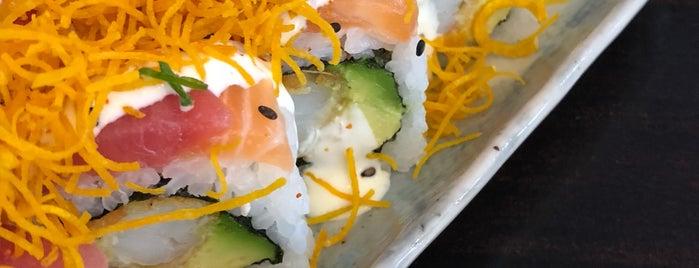 Sushi Cage is one of Lugares favoritos de Pablo.