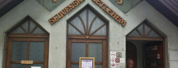 Slovenský Betlehem is one of สถานที่ที่บันทึกไว้ของ Peter.