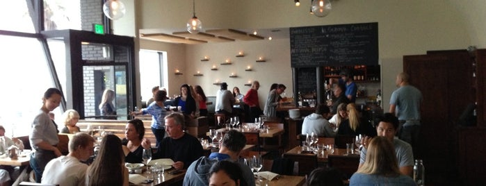 Rustic Canyon Wine Bar is one of LA eats.
