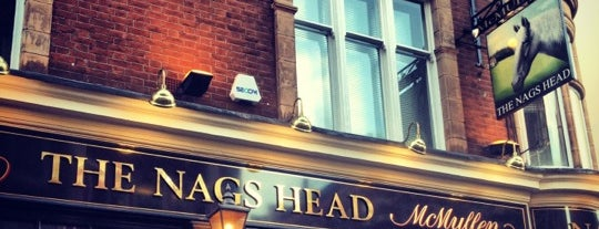 The Nag's Head is one of Out of Belgrade.