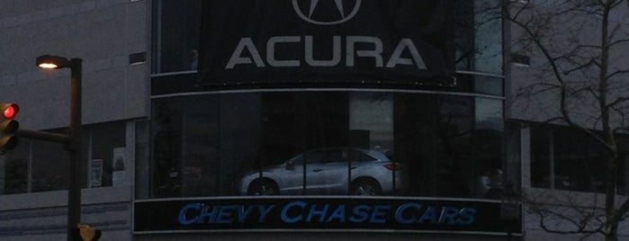 Chevy Chase Acura is one of Locais curtidos por Ron.