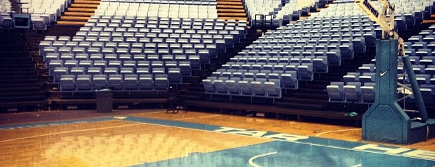 Dean E. Smith Center is one of NCAA Division I Basketball Arenas/Venues.