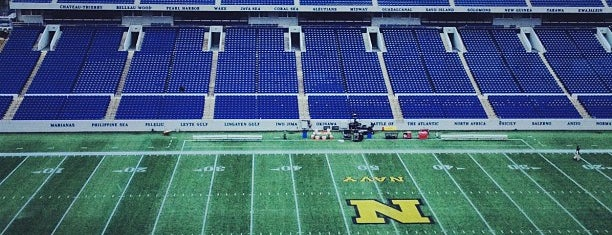 Navy-Marine Corps Memorial Stadium is one of Annapolis MD Half.