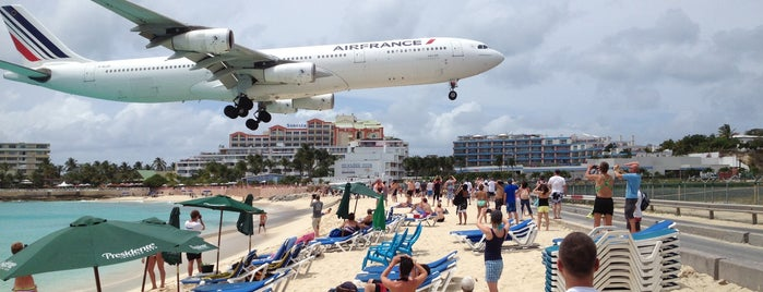 Maho Beach is one of Saint Marten.