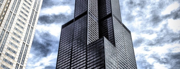 Willis Tower is one of CHI.
