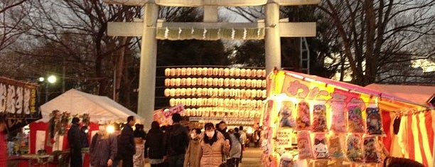 大國魂神社 駐車場 is one of Lugares favoritos de ジャック.