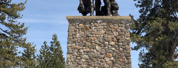 Pioneer Monument is one of Lugares guardados de Gordon.