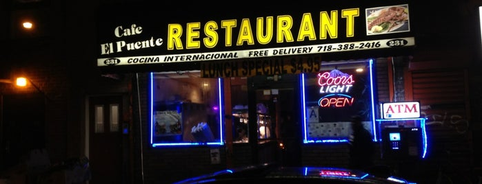 Cafe El Puente is one of Favorite Restaurant In NYC.