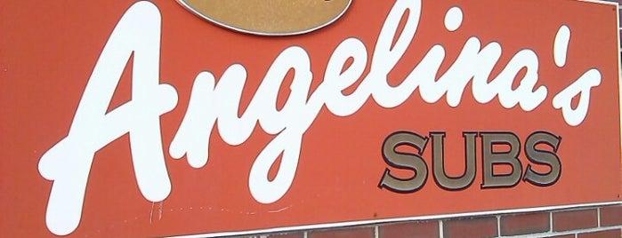 Angelinas Sub Shop is one of สถานที่ที่ Gayla ถูกใจ.
