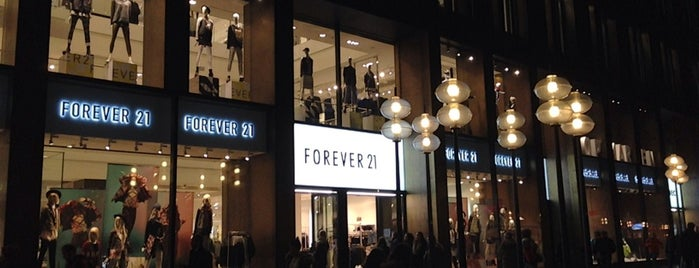 Forever 21 is one of munich.