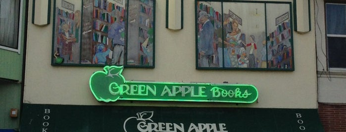 Green Apple Books is one of San Francisco's Best Bookstores - 2013.
