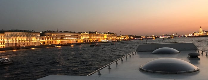 """теплоход-ресторан """"Volga-Volga"""" Ginza Project is one of St. Pete."""
