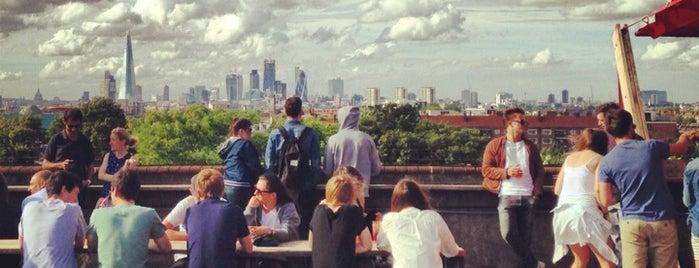 Frank's Café & Campari Bar is one of Quintessential London.