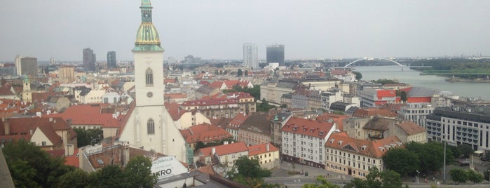 Bratislava is one of Slovakia: Dining, Coffee, Nightlife & Outings.