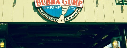Bubba Gump Shrimp Co. is one of California Favorites.