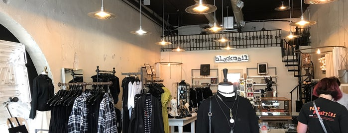 Blackmail Boutique & Atelier is one of Austin.