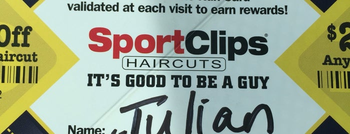 Sports Clips is one of Lugares guardados de Ronald Clayton.